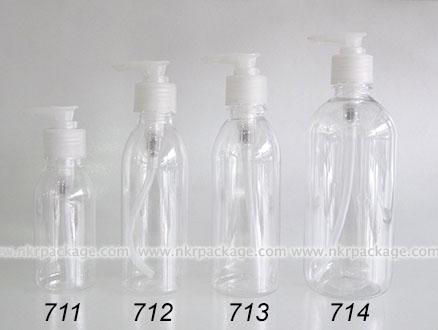 ขวดพลาสติก ขวดใส่เครื่องสำอาง (1) หมายเลข 711-714