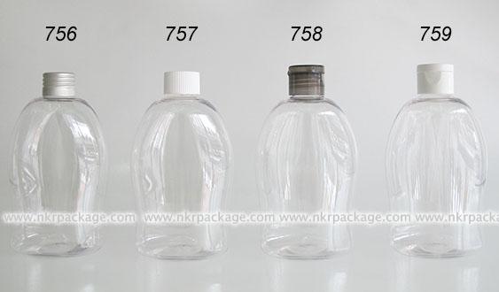 ขวดพลาสติก ขวดใส่เครื่องสำอาง แบบ 756-759