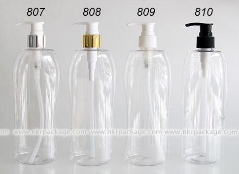 ขวดพลาสติก ขวดใส่เครื่องสำอาง แบบ 807-810