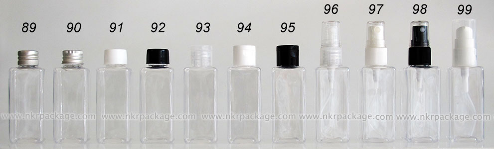 ขวดพลาสติก ขวดใส่เครื่องสำอาง (1)  หมายเลข 89-99