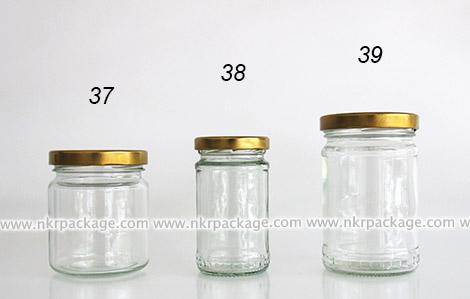 ขวดแยม / ขวดน้ำผึ้ง แบบ 37-38