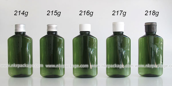 ขวดพลาสติก ขวดใส่เครื่องสำอาง (1) หมายเลข 214g-218g