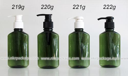 ขวดพลาสติก ขวดใส่เครื่องสำอาง (1) หมายเลข 219g-222g