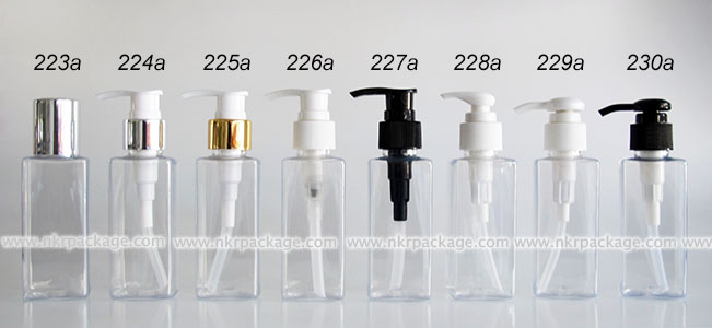 ขวดพลาสติก ขวดใส่เครื่องสำอาง (1) 223a-230a