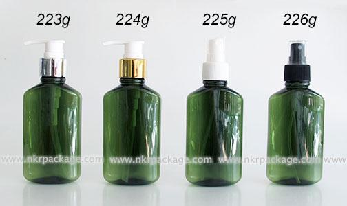 ขวดพลาสติก ขวดใส่เครื่องสำอาง (1) หมายเลข 223g-226g