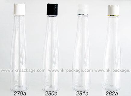 ขวดพลาสติก ขวดใส่เครื่องสำอาง (1) หมายเลข 279a-282a