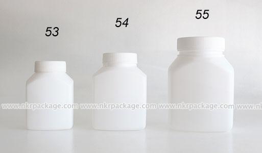 ขวดอาหารเสริม หมายเลข 53-55
