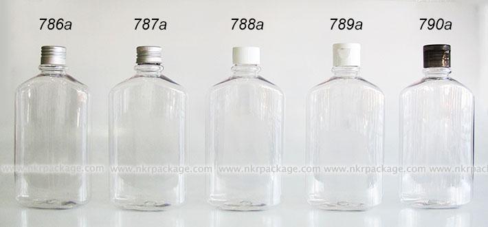 ขวดพลาสติก ขวดใส่เครื่องสำอาง (2) แบบ 786a-790a