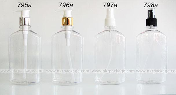 ขวดพลาสติก ขวดใส่เครื่องสำอาง (2) แบบ 795a-798a