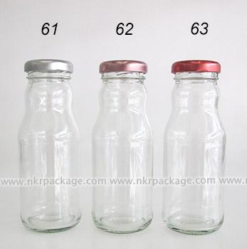 ขวดแก้วน้ำผลไม้ แบบ 61-63