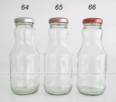 ขวดแก้วน้ำผลไม้ แบบ 64-66
