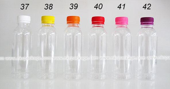 ขวดพลาสติก กลมเรียบ 250 ml. + ฝาพลาสติก หมายเลข 37-42