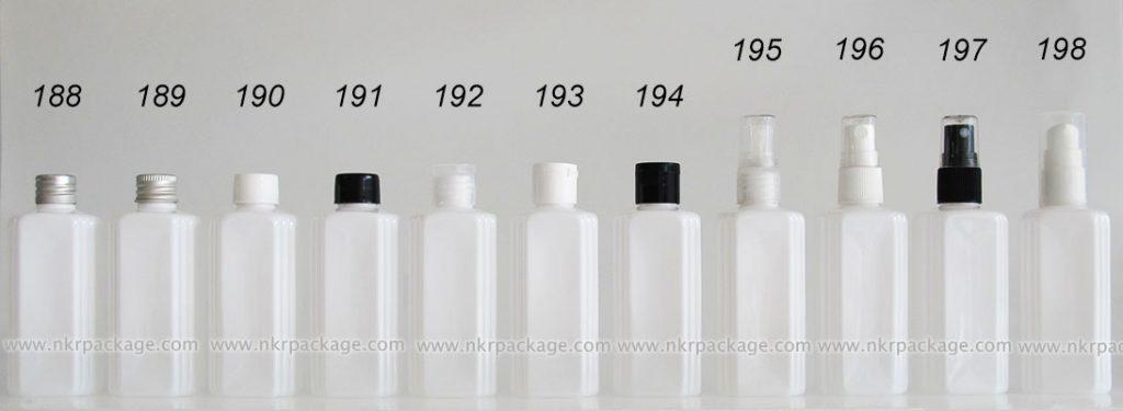 ขวดพลาสติก ขวดใส่เครื่องสำอาง (1) หมายเลข 188-198