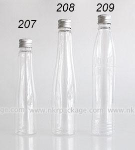 ขวดพลาสติก ขวดใส่เครื่องสำอาง (1) หมายเลข 207-209