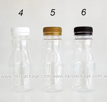 ขวดพลาสติก ทรงโยเกิร์ต 150 ml. ใส (ปาก 34 มม.)